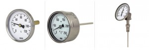 termometri bimetallici