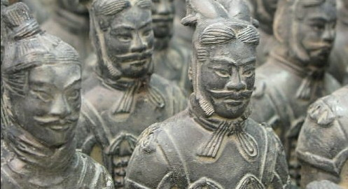 statue terracotta Cina