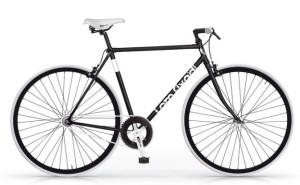 Bici fixed da uomo di colore nero
