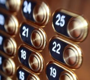 Pulsanti di controllo di un ascensore