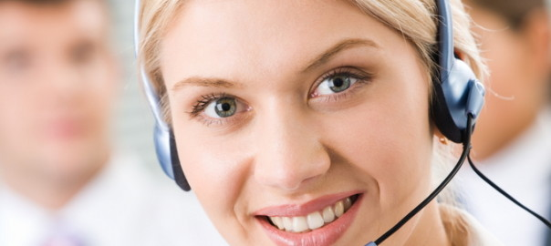 call center operatrice