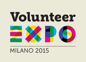 Logo dei volontari di Expo
