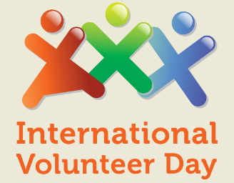 Logo dell'International Volunteer Day