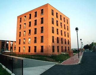 Struttura delle Residenze del Campus