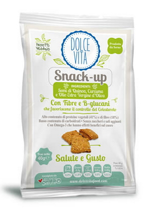 Snack-up con quinoa e curcuma