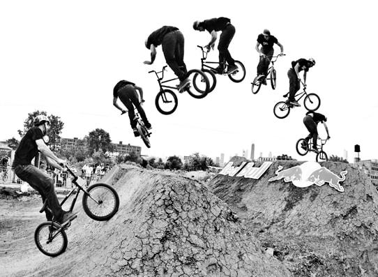 Salto con BMX