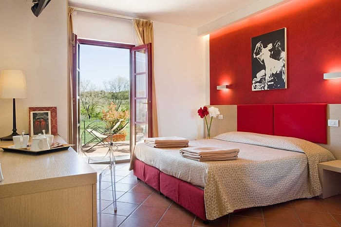 Hotel Casolare Le Terre Rosse double room