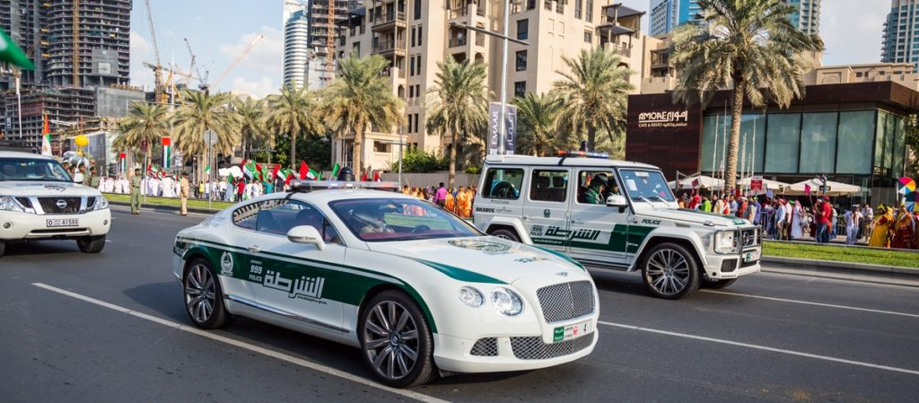 Viaggi Dubai - Police security