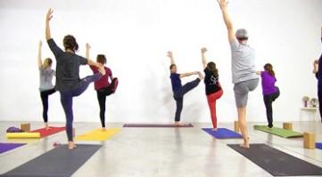 Lezione di anukalana yoga