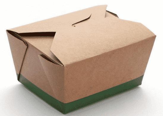 Una scatola per alimenti