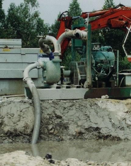 Pompaggio di acqua