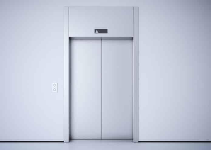 Un ascensore moderno
