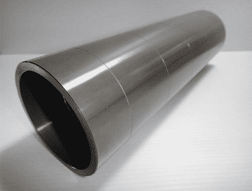 Tubo in alluminio anodizzato